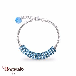 Bracelet spark bijoux made with swarovski elements j263a
