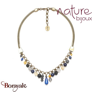 Collection Blue Tribe, Collier Nature Bijoux 15--40919