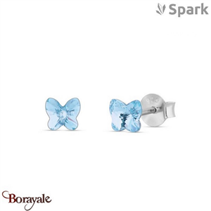 Boucles d'oreilles SPARK made with Swarovski Elements collection Small Butterfly