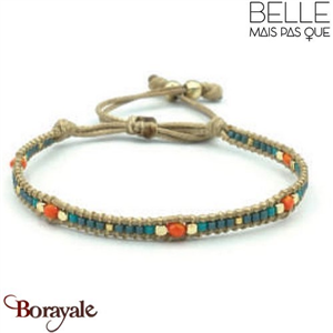 "Bracelet ""Belle mais pas que"" collection Golden Summer B-989-GSU"