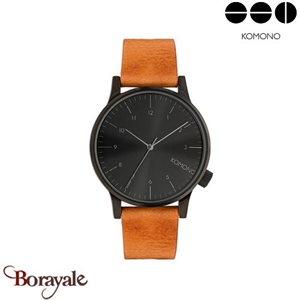 Montre KOMONO Collection WINSTON REGAL COGNAC KOM-W2253