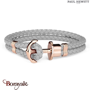 Bracelet PAUL HEWITT collection Phreps cuir PH-PH-L-R-GR-L ( taille L )