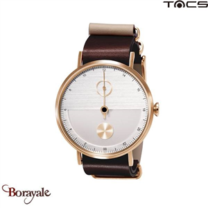 Montre  TACS Day & Night Unisexe Gris - Or rose