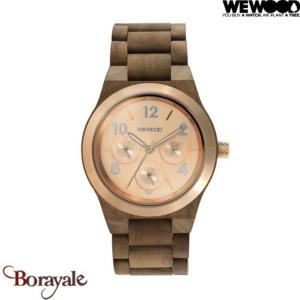 Montre en bois WEWOOD KYRA MB Rough Rose 70372-727