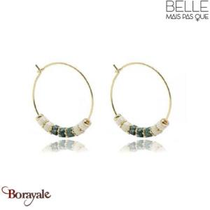 Boucles d'oreilles -Belle mais pas que- collection Mila BO8 MILA-BO8