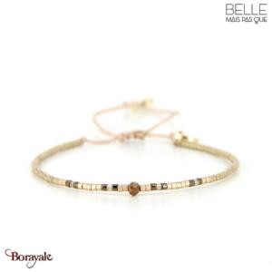 bracelet -Belle mais pas que- collection Golden Almond B-1362-ALMD