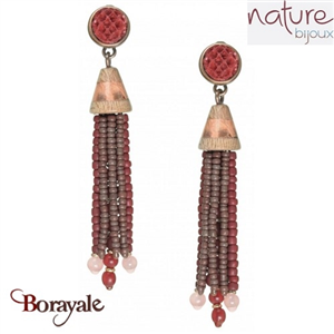Collection Granada, Boucles d'oreilles NATURE Bijoux 12--25425