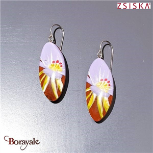 Collection Aloha, Boucles d'oreilles ZSISKA Bijoux 9260501PURPQ00