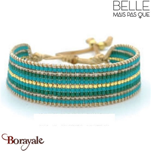 Bracelet  Belle mais pas que  Collection Gold Bora Bora B-1358-GBB