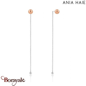 Out Of This World, Boucles d'oreilles Argent - plaqué Or rose ANIA HAIE E001-04T