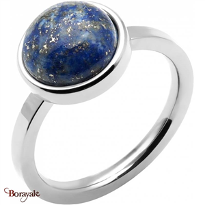 Bague lapis lazuli, Collection: Cabochon YOLA Taille 56