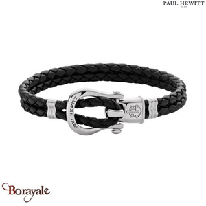 Bracelet -PAUL HEWITT- collection Manille - cuir PH-FSH-L-S-B-M taille M