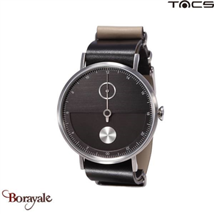 Montre  TACS Day & Night Unisexe Noir