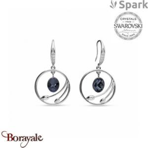 Boucles d'oreilles SPARK collection almira made with Swarovski Elements A938GT