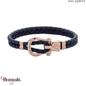 Bracelet -PAUL HEWITT- collection Manille - cuir PH-FSH-L-R-N-M taille M