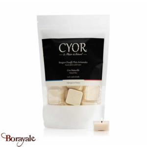 Bougies Chauffe Plats CYOR 100% Nature (sans parfum): Made in France