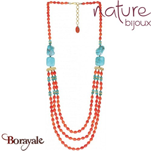 Collection Khampa, Collier NATURE Bijoux 15--26572