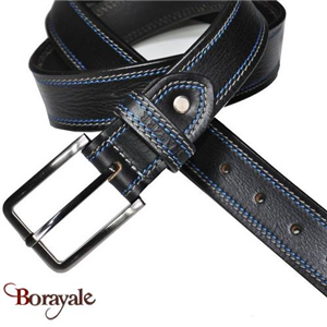 Ceinture KASZER collection Indiana en cuir de buffle 578004-G4