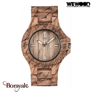 Montre en bois WEWOOD DATE Nut Rough 70304-713