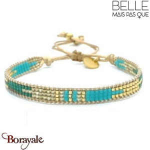 "Bracelet ""Belle mais pas que"" Collection Gold Bora Bora B-1192-GBB"