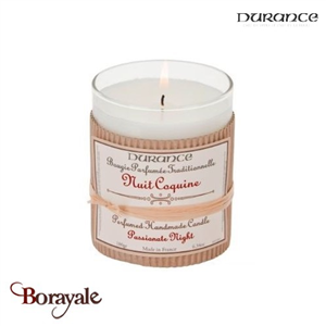 Bougie traditionnelle DURANCE 180g Nuit Coquine