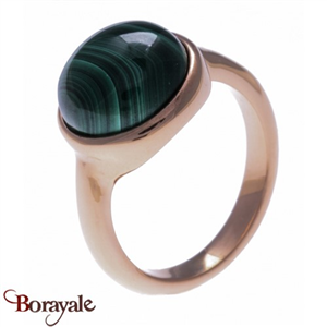 Collection Nature et élégance, Bague Malachite YOLA IG-118-58