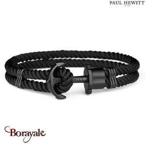 Bracelet PAUL HEWITT collection Phreps nylon PH-PH-N-B-B-M ( taille M )