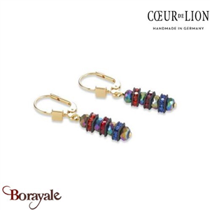 Nuance : 1500, Boucles d'oreilles Cœur de lion with SWAROVSKI Elements bijoux