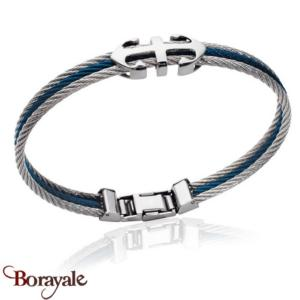 Bracelet BORAYALE Collection câbles homme