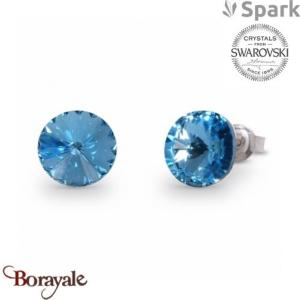 Boucles d'oreilles SPARK collection Candy made with Swarovski Elements A129LSA
