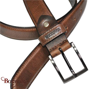 Ceinture KASZER collection Indiana en cuir de buffle 578604-C6