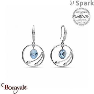Boucles d'oreilles SPARK collection almira made with Swarovski Elements A938A