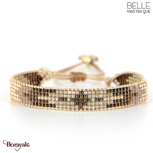 bracelet -Belle mais pas que- collection Golden Almond B-1538-ALMD
