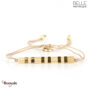 bracelet -Belle mais pas que- collection Golden Camel B-1803-CAML