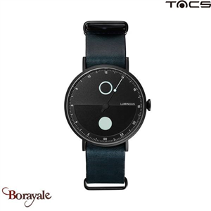 Montre  TACS Day & Night Homme Lumin Noir