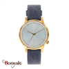 Montre KOMONO collection Estelle Corn Flower femme KOM-W2454