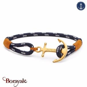 Bracelet ancre de marine tom hope 24k one l