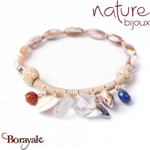 Collection BAHIA, Bracelet Nature bijoux 13--30155