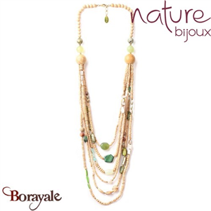 Collection Danube, Collier Nature Bijoux 15--40010