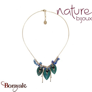 Collection Agapanthe, Collier Nature Bijoux 15--40201