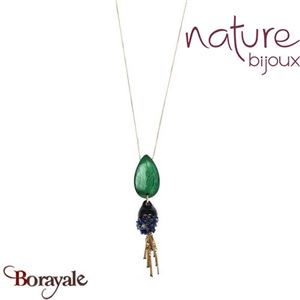 Collection Agapanthe, Collier Nature Bijoux 15--40202