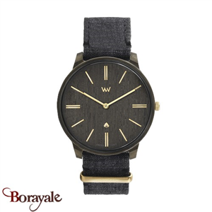 Montre en bois WEWOOD Ross Black GOLD 70113-306