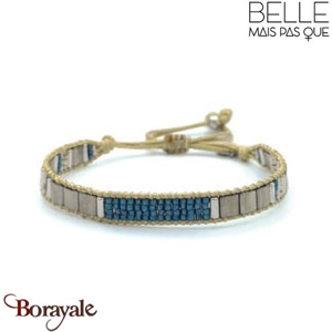 "Bracelet ""Belle mais pas que"" collection Rock Bohème B-1017-RB"