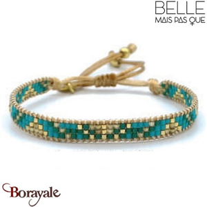 "Bracelet ""Belle mais pas que"" Collection Gold Bora Bora B-1269-GBB"