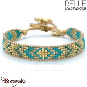 "Bracelet ""Belle mais pas que"" Collection Gold Bora Bora B-1359-GBB"
