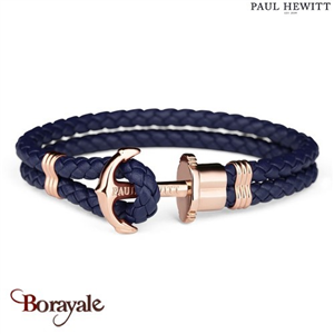 Bracelet PAUL HEWITT collection Phreps cuir PH-PH-L-R-N-L ( taille L )