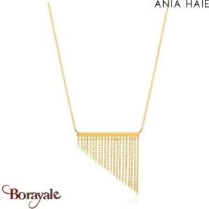 Fringe Appeal, Collier Argent Plaqué OR ANIA HAIE N013-02G