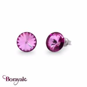 Boucles d'oreilles SPARK bijoux made with Swarovski Elements A129M