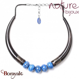 Collection Deep Blue, Collier Nature Bijoux 15--27857