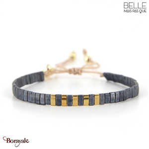 bracelet -Belle mais pas que- collection Winter Deep Blue B-1801-WDEEP